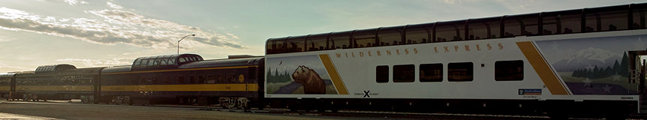 Train intro, wilderness express